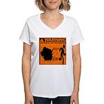 SCIENCE IN PROGRESS Women's V-Neck T-Shirt