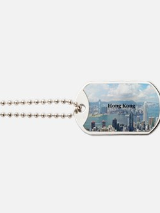 HongKong_5x3rect_sticker_HongKongFromVict Dog Tags