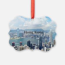 HongKong_5x3rect_sticker_HongKong Ornament