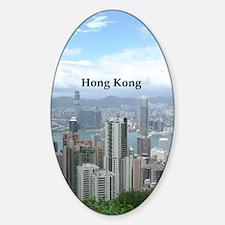 HongKong_2.5x3.5_Ornament (Oval)_Ho Stickers
