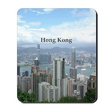 HongKong_2.5x3.5_Ornament (Oval)_HongKon Mousepad