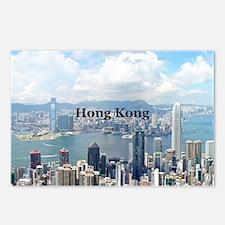 HongKong_5x3rect_sticker_ Postcards (Package of 8)