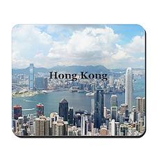 HongKong_5x3rect_sticker_HongKongFromVic Mousepad