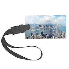 HongKong_5x3rect_sticker_HongKon Luggage Tag