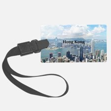 HongKong_5x3rect_sticker_HongKon Luggage Tag