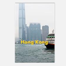 HongKong_5.415x7.9688_iPa Postcards (Package of 8)