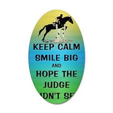 Keep Calm, Smile Big Horse S Wall Sticker