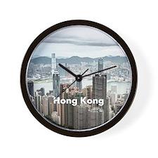 HongKong_8.887x11.16_iPadSleeveFront_Ho Wall Clock