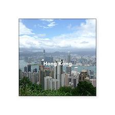"HongKong_8.56x7.91_GelMouse Square Sticker 3"" x 3"""