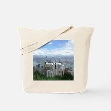 HongKong_8.56x7.91_GelMousepad_HongKongFr Tote Bag