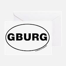 Gettysburg, GBURG Greeting Card