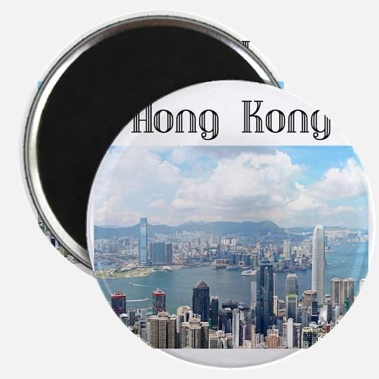 HongKong_19x19_HongKongFromVictoriaPeak Magnet