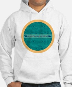 Cross Country Running Collage Bl Hoodie