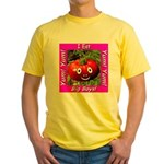 I Eat Big Boys! Yellow T-Shirt