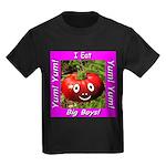 I Eat Big Boys! Kids Dark T-Shirt