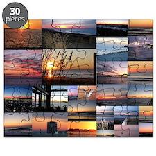 Sunrise/Sunset collage Puzzle