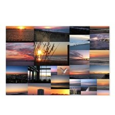 Sunrise/Sunset collage Postcards (Package of 8)