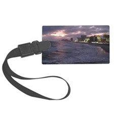 Sunset in Atlantic City Luggage Tag