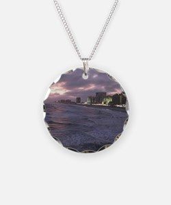 Sunset in Atlantic City Necklace