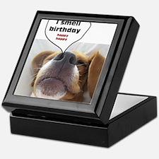I smell birthday Keepsake Box
