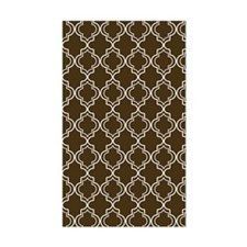 Moroccan TnT 5x7 W Brown Decal