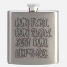 Run fast - run slow - just run - let's go! Flask