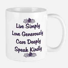 Optimism and Love Small Small Mug