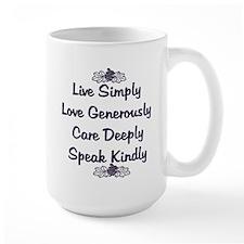 Optimism and Love Mug