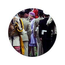 "Queen Elizabeth of England reviews tro 3.5"" Button"