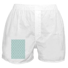 Moroccan TnT 5x7 W Lt Teal Boxer Shorts