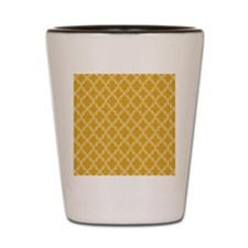 Moroccan Tile in Tile Sq W Gold Shot Glass