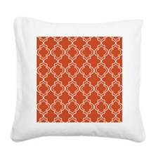 Moroccan TnT SB W Pumpkin Square Canvas Pillow