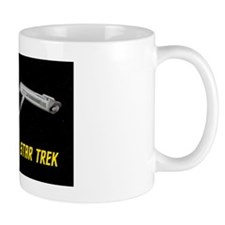USS Enterprise Rear View Mug