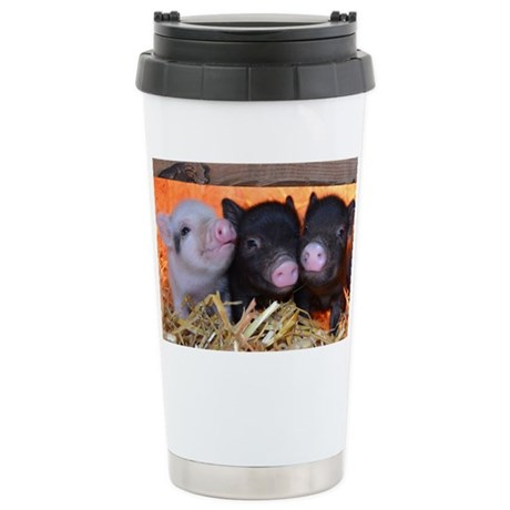 THREE LITTLE PIGS Stainless Steel Travel Mug