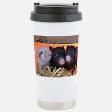 Three Little Piggies Stainless Steel Travel Mug