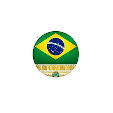 Flag of Brazil Mini Button
