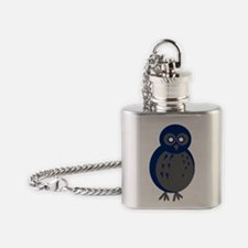 Baby Owl Flask Necklace