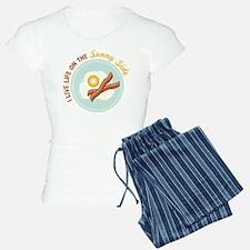 I LIVE LIFE ON THE Sunny Side Pajamas