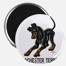 Manchester Terrier - Button Ears Magnet