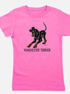 Manchester Terrier - Button Ears Girl's Tee