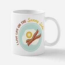 I LIVE LIFE ON THE Sunny Side Mugs