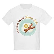 I LIVE LIFE ON THE Sunny Side T-Shirt