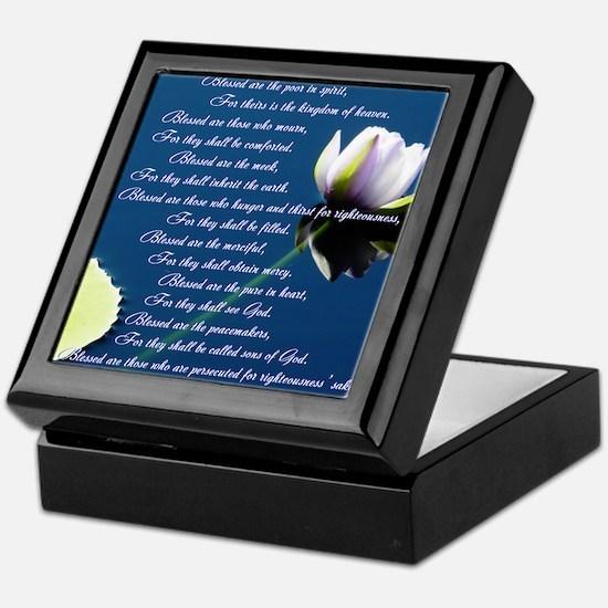 The Beatitudes Keepsake Box