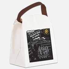 The I'm OK You're OK Corral Canvas Lunch Bag