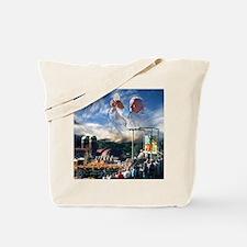 Pope John Paul II  Mass in the Heartland  Tote Bag