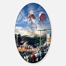 Pope John Paul II  Mass in the Hear Decal