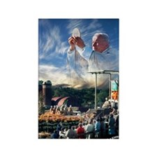 Pope John Paul II  Mass in the He Rectangle Magnet
