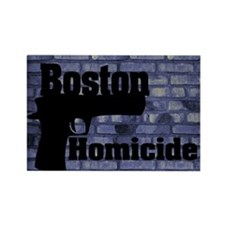 King Duvet Boston Homicide 1 Rectangle Magnet