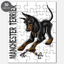 Manchester Terrier - Cropped Puzzle