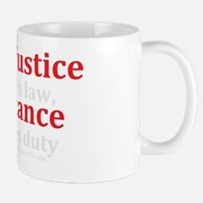 Injustice Resistance Mug